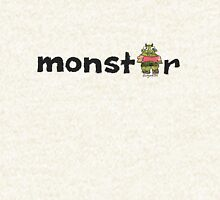 Monster Text Cartoon 001 Hoodie