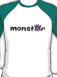 Monster Text Cartoon 002 T-Shirt