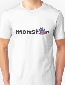 Monster Text Cartoon 002 Unisex T-Shirt