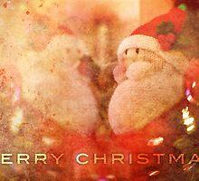 Christmas Card – Santa Reflects by Alisdair Binning