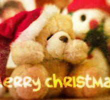 Christmas Card – Forever Friends Bear by Alisdair Binning