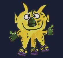 Funny Cartoon Monstar 003 Kids Clothes
