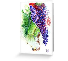 La Vigne Greeting Card