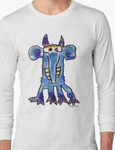 Funny Cartoon Monstar 005 Long Sleeve T-Shirt