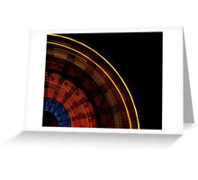 And The Wheel Goes 'Round Greeting Card