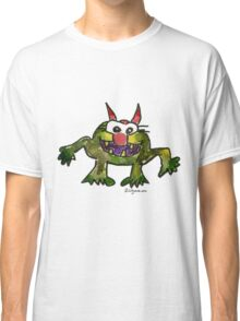 Funny Cartoon Monstar 006 Classic T-Shirt