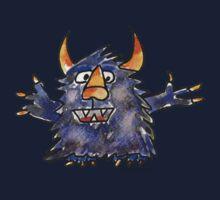 Funny Cartoon Monstar 008 Kids Clothes