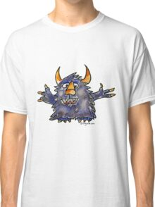 Funny Cartoon Monstar 008 Classic T-Shirt