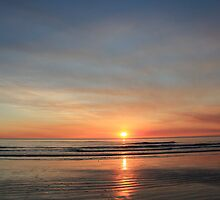 cable beach sunset in broome, wa by nicole makarenco
