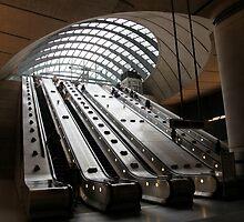 Canary Wharf Underground Station by John Dalkin