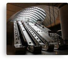 Canary Wharf Underground Station Canvas Print