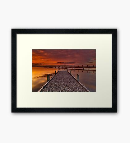 """The Long and The Short Of It"" Framed Print"