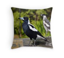the magestic magie Throw Pillow