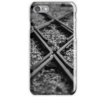 The Cross roads in life, Midland railway yards iPhone Case/Skin