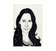 Nur portrait Art Print