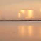 Misty reflection - Shell Refinery by Hans Kawitzki