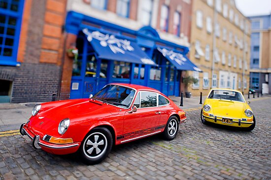 Two 911s in Town by supersnapper