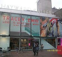 Hayward Gallery/Tracey Emin Exhibition -(180511a)- digital photo by paulramnora