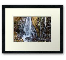 Waterfall 2011 Framed Print