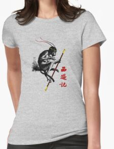 Journey to the West  Womens Fitted T-Shirt