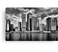 City of Brisbane Canvas Print