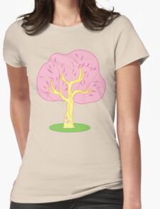 Flutter...Tree? Womens Fitted T-Shirt