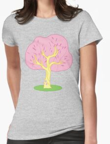 Flutter...Tree? Womens Fitted T-Shirt