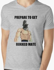 Havel - Prepare To Get Rukked Mate Mens V-Neck T-Shirt