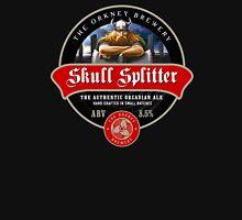 Skull Splitter Beer Label T-Shirt