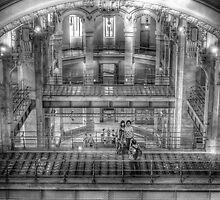 Interior of Cibeles Palace  - Madrid by marcopuch