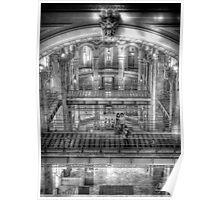 Interior of Cibeles Palace  - Madrid Poster