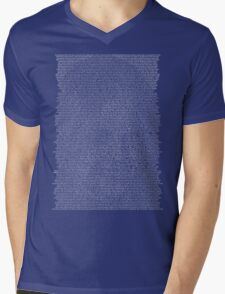 What Castle Sees. Mens V-Neck T-Shirt
