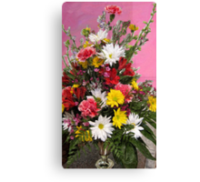 Flowers for Janice Canvas Print