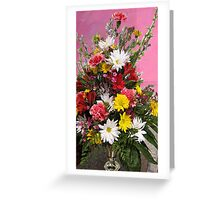 Flowers for Janice Greeting Card