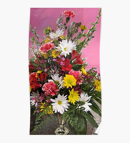 Flowers for Janice Poster