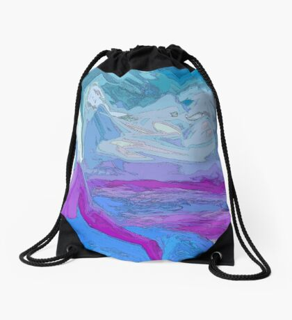 The Ice Princess Drawstring Bag