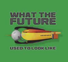what the future used to look like Kids Tee