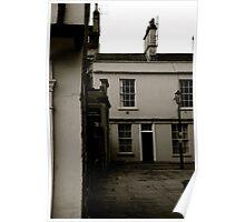 A Bath Street Scene Poster