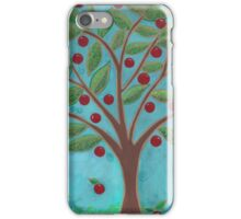 Juicy Red Fruit Tree iPhone Case/Skin