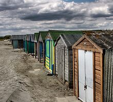 Huts - Beach Huts in West Wittering, UK by David Kent