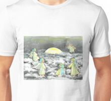 Moon shining Unisex T-Shirt