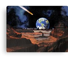 Everyone's Gone to the Moon ? Canvas Print