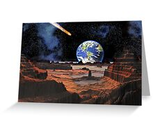 Everyone's Gone to the Moon ? Greeting Card