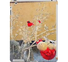Christmas Cardinal iPad Case/Skin