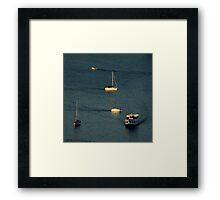 Nautical Ballet ~ Part One Framed Print