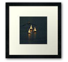 Nautical Ballet ~ Part Two Framed Print