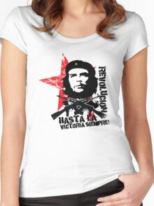 Hasta La Victoria Siempre! - Che Guevara T-Shirt Women's Fitted Scoop T-Shirt