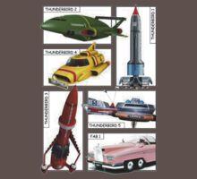 Thunderbirds Vehicles Kids Clothes