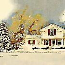 Christmas in the Country by Douglas E.  Welch