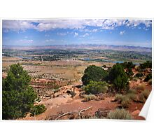 View from the Redlands Overlook Poster